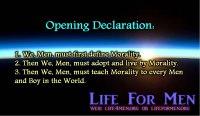The Men's Moral Code 3